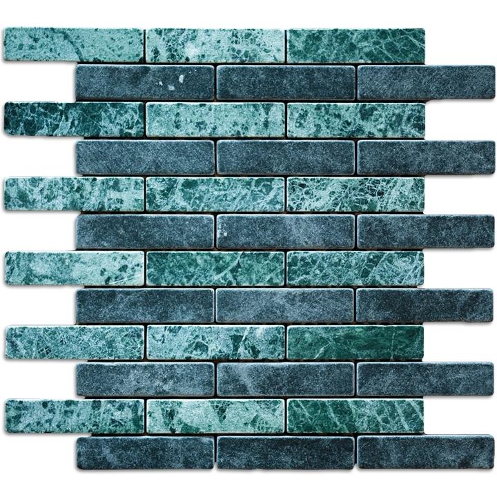 Tinos Green, Verde Gwatemala  mozaika kamienna