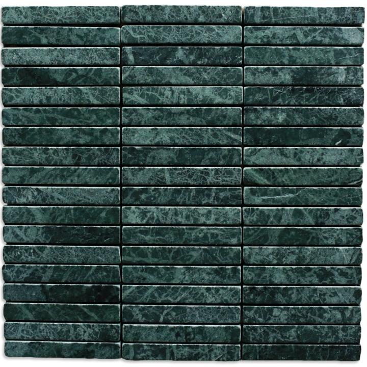 Verde Gwatemala mozaika kamienna