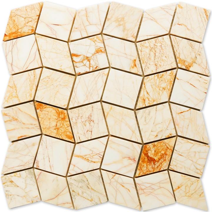 Golden Spider mozaika kamienna
