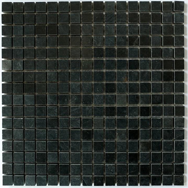 Macedonian Black Mat mozaika kamienna