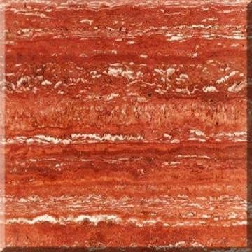 Travertino Iran Red
