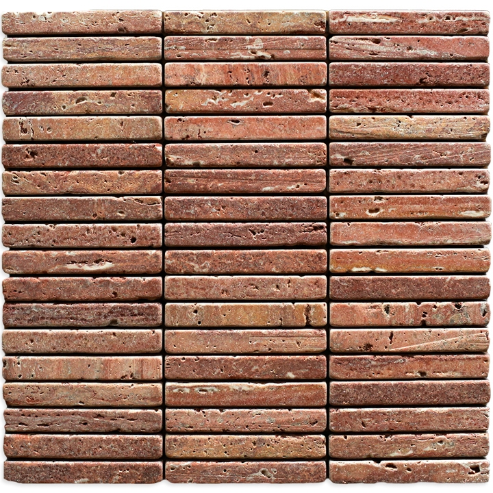 Travertino Red mozaika kamienna