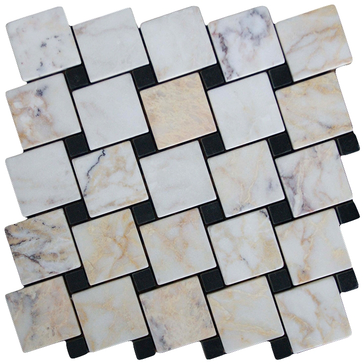 Skyros, Macedonian Black mozaika kamienna