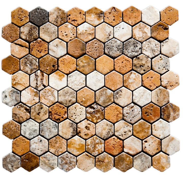 Travertino MIX mozaika kamienna