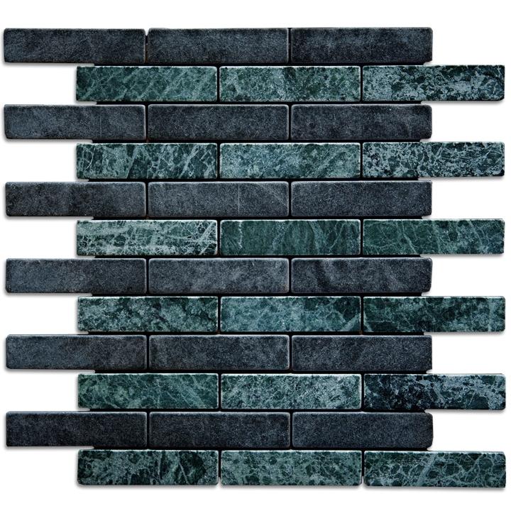 Tinos Green, Macedonian Black mozaika kamienna