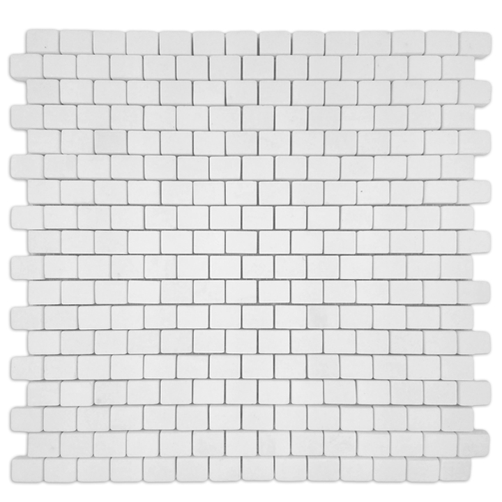 Thassos Snow White mozaika kamienna