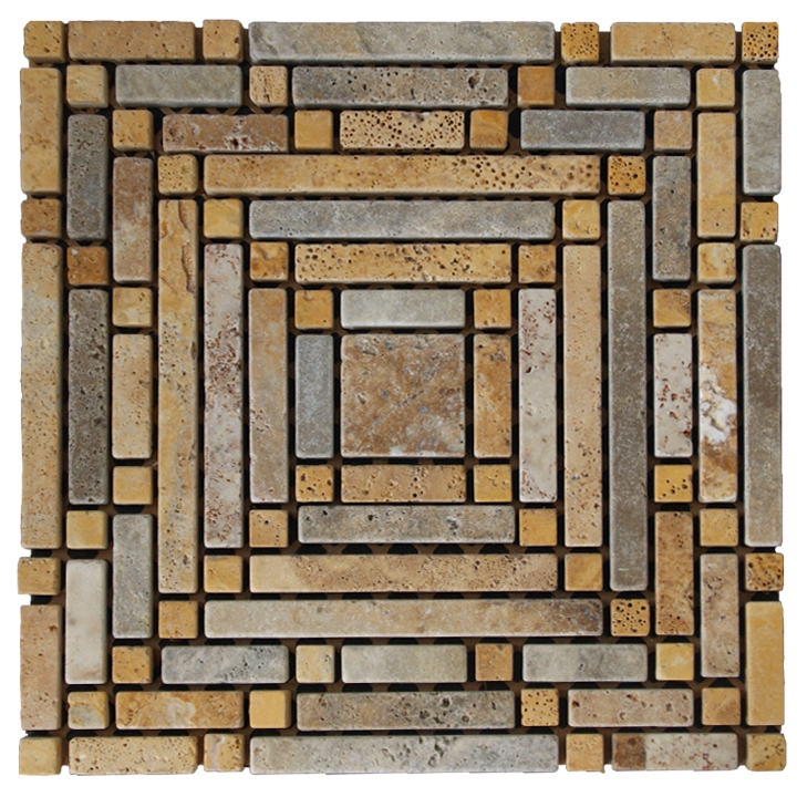 Trawertino mozaika kamienna