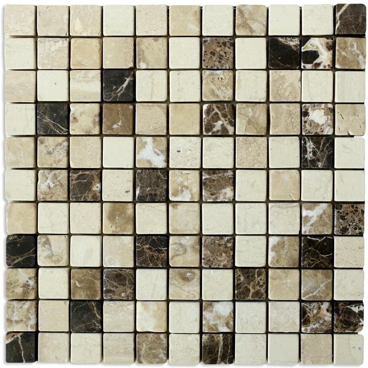Golden Brown Chios, Emperador Dark, Emperador Light, Breccia mozaika kamienna