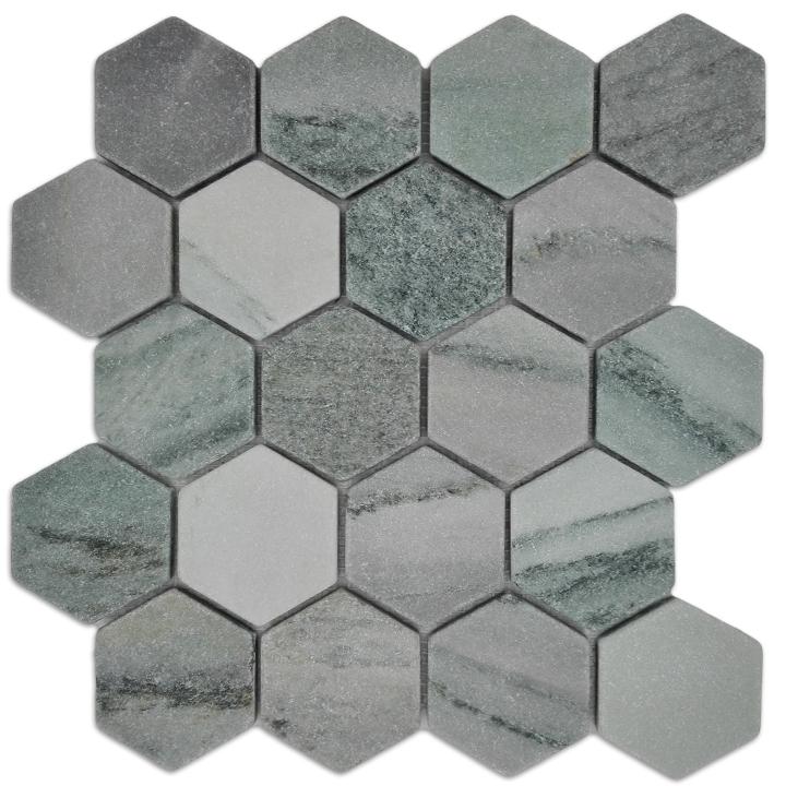 CIPOLINO GREEN mozaika kamienna