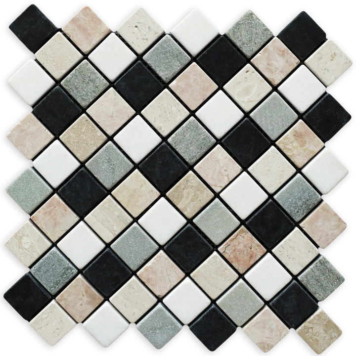 Thassos, Breccia, Desert, Macedonian, Cipollino mozaika kamienna