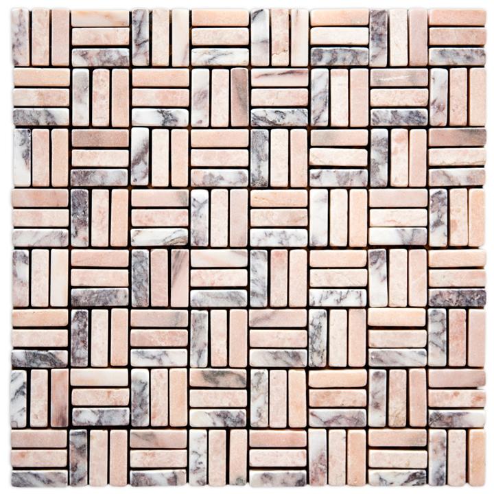 Pteleos Pink, Skyros mozaika kamienna