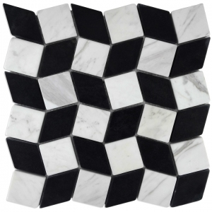 Volakas, Macedonian Black mozaika kamienna