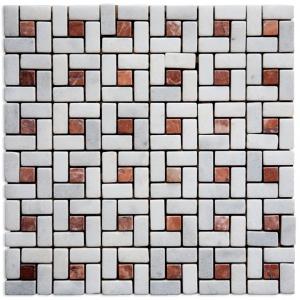 Crystalina, Ritsona Red mozaika kamienna