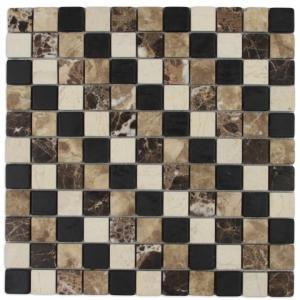 Macedonian Black, Emperador Dark i Light, Ioannina mozaika kamienna