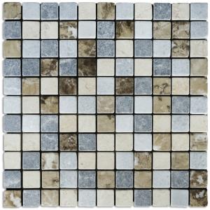 Creta Grey, Emperador, Crystalina, Breccia, Sunny Gold mozaika kamienna