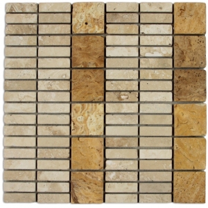 Travertino Gold, Travertino Romano mozaika kamienna