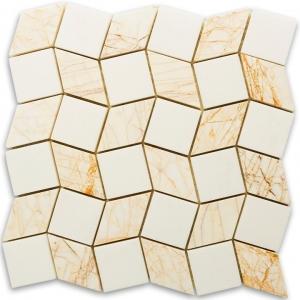 Thassos Snow White, Golden Spider mozaika kamienna