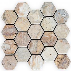Travertino Scabas mozaika kamienna